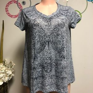 Style & Co V-neck loose fitting Small